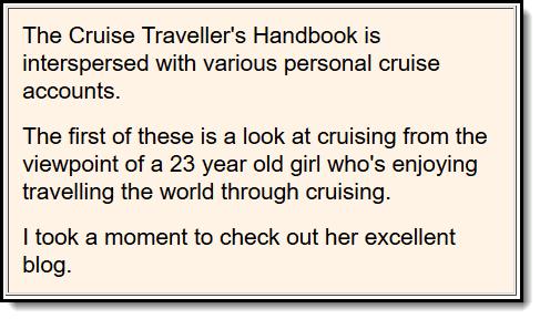 Cruise Travelers Handbook
